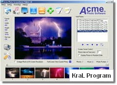 Acme Photo ScreenSaver Maker