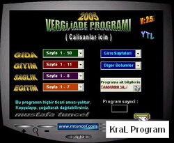 Vergi iade Programi (Calisanlar icin) YTL