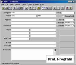 CardBase 2000