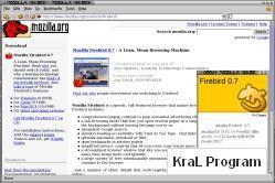 Mozilla Firebird (Linux - GTK2+XFT)
