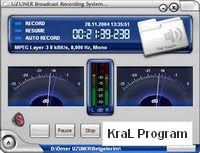 UZUNER Broadcast Recording System