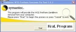 W32.Frethem Removal Tool