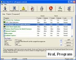 AlertWall Personal Firewall and Spyware Blocker