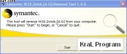 W32.Zotob Removal Tool
