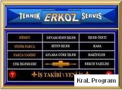 Erkoz Teknik Servis Programi
