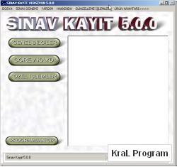 PosnetSinavKayit