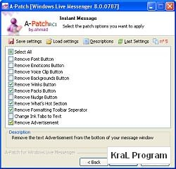 A-Patch for Windows Live Messenger
