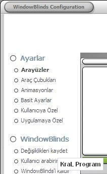 WindowBlinds 5 Turkce Yama