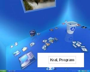 3 boyutlu masaustu Real Desktop