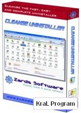 Program Kaldirici Cleanse Uninstaller 3.4
