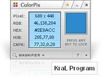 ColorPix Renk Kodu Bulma Programi