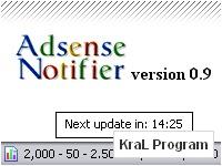 Adsense Notifier 0.9.6