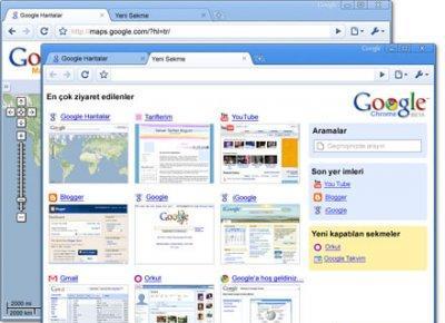 Google Chrome Turkce