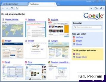 Google Chrome 0.3.154.6 Beta