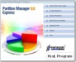 Paragon Partition Manager Express 9.0
