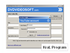 Free YouTube Uploader 2.2.3.50