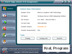 DirectX Kaldirma Happy Uninstall 4.18