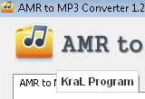 AMR to MP3 Converter 1.2