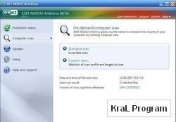 NOD32 AntiVirus 4.0.226 RC1