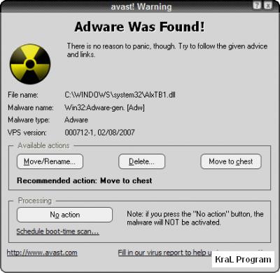 Avast! Home Edition 4.8.1335