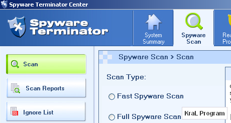 Spyware Terminator 2.5.7.140 Koruma programi