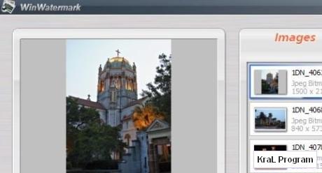 WinWatermark 2.9 Resimlere filigran ekleme