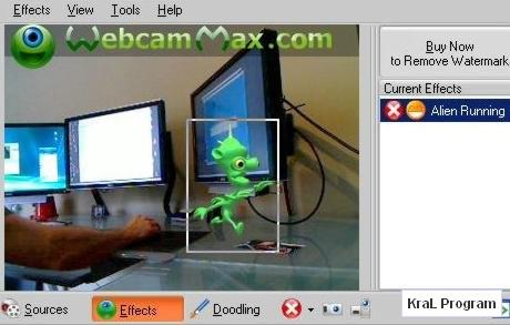 WebcamMax 5.1.2.6 Webcam efekt programi