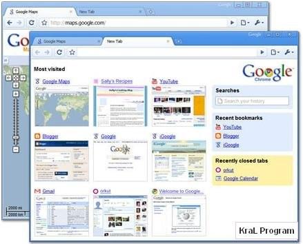 Google Chrome 3.0.190.1 Turkce