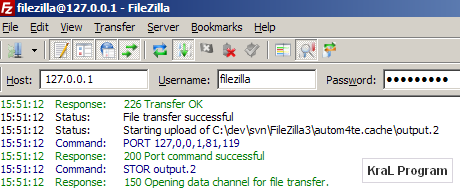 FileZilla 3.2.6 Ftp Programi