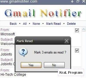 Gmail Notifier 1.0.0.46