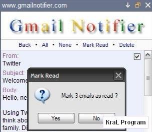 Gmail Notifier 1.0.0.52