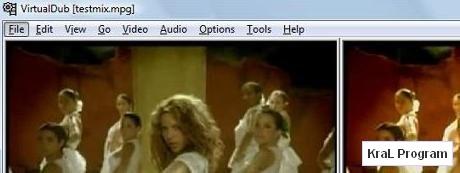VirtualDub 1.9.6 Video duzenleme programi