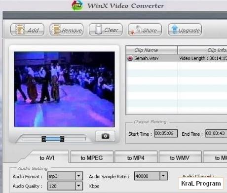 WinX Video Converter 4.1.3 Video donusturucu
