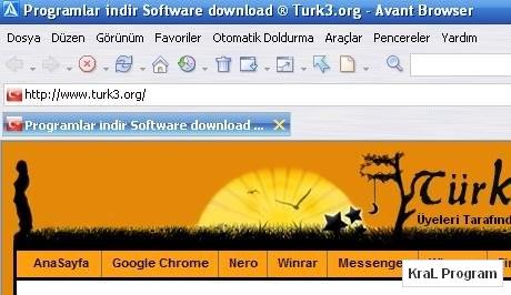 Avant Browser 11.7 Build 40 internet tarayici