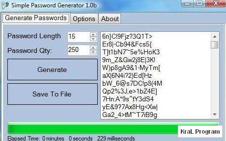 Simple Password Generator 1.0 Sifre olusturucu