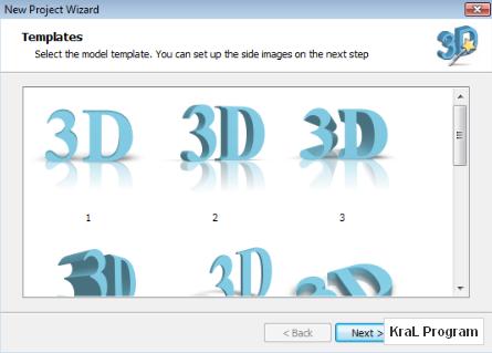 3D Text Commander 3 boyutlu yazi yazma programi