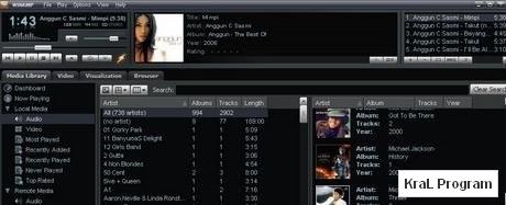 Winamp 5.57 Muzik calma programi