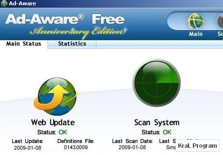 Ad-Aware Free 8.1.2 Casus yazilim engelleyici