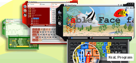 Rapid Typing 2.9.9 On parmak ogrenme programi