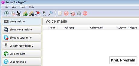 Skype sekreter programi Pamela for Skype Basic 4.6.0.46