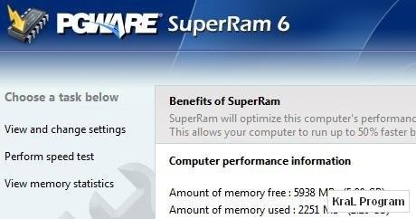 SuperRam 6.1.4 2010 Ram duzenleyici