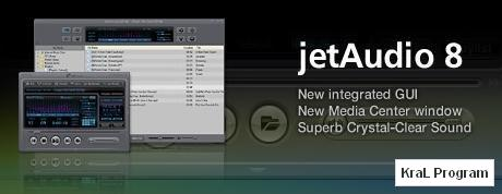 JetAudio Basic 8.0.1 Ses ve video yazilimi