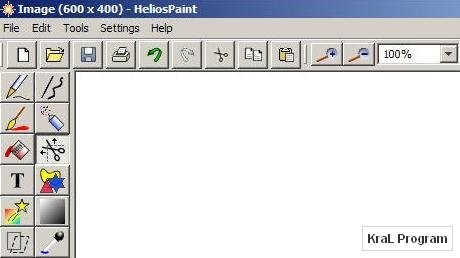 HeliosPaint 1.4.2 Ucretsiz Resim editoru