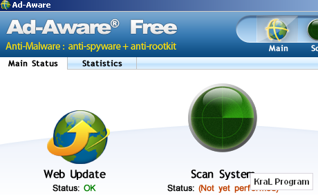 Ad-Aware Free 8.2.0 Reklam ve casus yazilim engelleyici