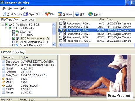 Recover My Files 4.5.2.674 Veri kurtarma programi
