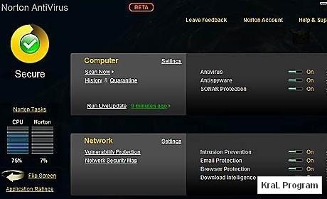 Norton AntiVirus 2010 17.5.0.127 Antivirus programi