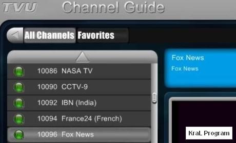 TVUPlayer 2.5.2.2 Yabanci tv izleme programi