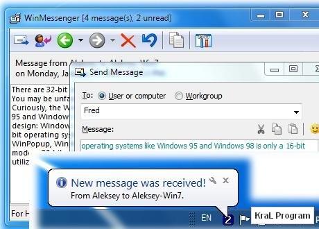 WinMessenger 2.8.03 Ag uzerinden mesajlasma programi