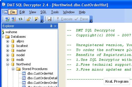 DMT SQL Decryptor 3.10