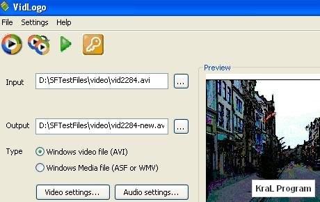 VidLogo 3.8.5 Videoya logo ekleme programi